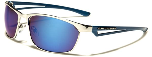 NEU arktischen blau Designer Herren Damen oval verspiegelte Sonnenbrillen UV400 zas3D2iDn